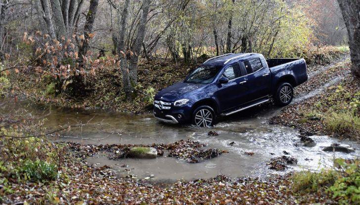 Mercedes-Benz Classe X: il primo pick-up Premium è firmato dalla Stella - Foto 4 di 17