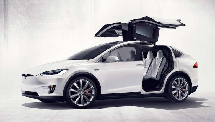 Tesla Owner Club, la sfida: Tesla Model X VS Range Rover HSE in 800Km - Foto 12 di 12