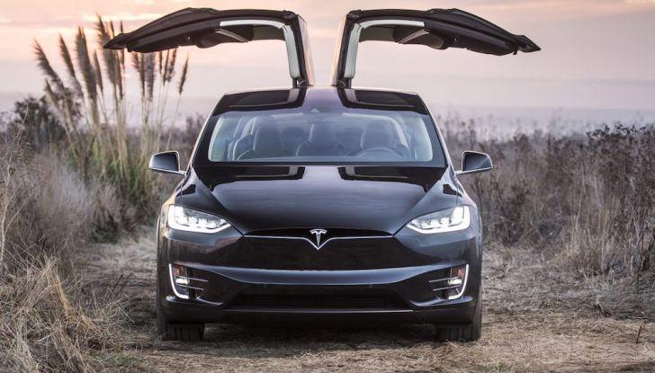 Tesla Owner Club, la sfida: Tesla Model X VS Range Rover HSE in 800Km - Foto 2 di 12