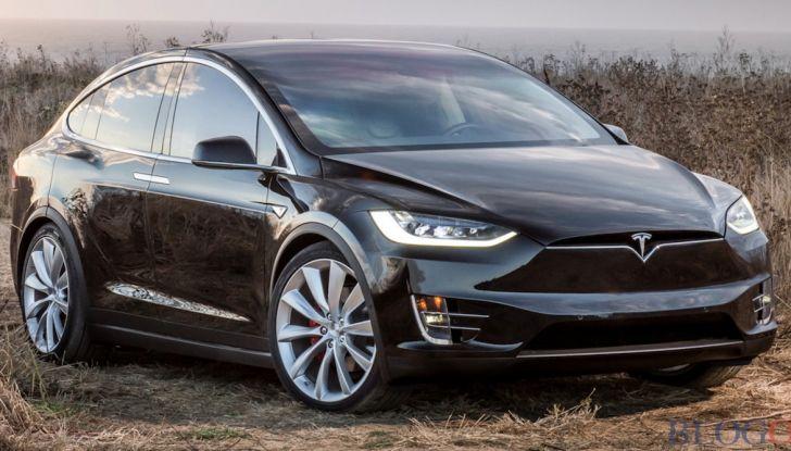 Tesla Owner Club, la sfida: Tesla Model X VS Range Rover HSE in 800Km - Foto 6 di 12