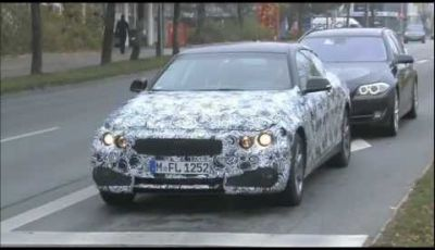 BMW Serie 4 Coupé video spia