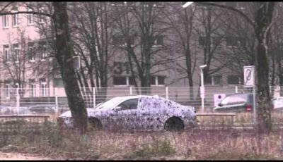 BMW Serie 7 video spia