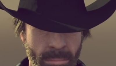 Chuck Norris la sua parodia del video di Van Damme