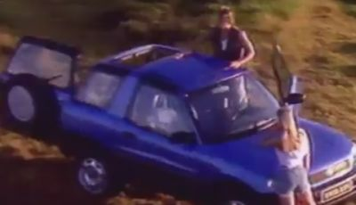 Toyota RAV4 festeggia il 20° anniversario con un tour off-road