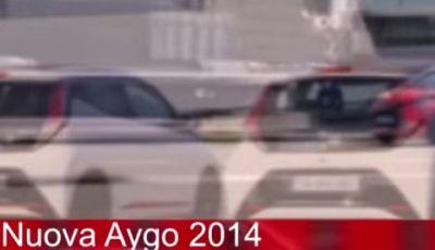 Nuova Toyota Aygo prova su strada