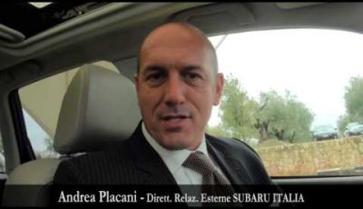 Nuova Subaru Forester 2013, test drive a Verona