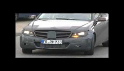 Mercedes Classe C Coupè video spia