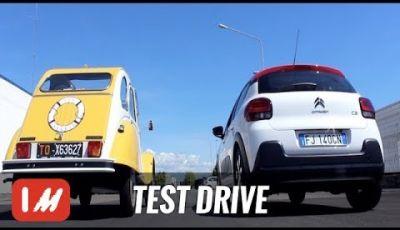 2CV 2Furious – Citroën C3 incontra la sua antenata