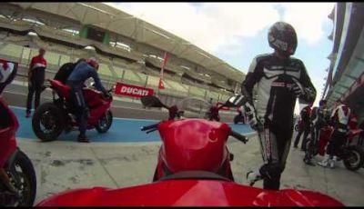 Ducati 1199 Panigale – Test ride a Yas Marina