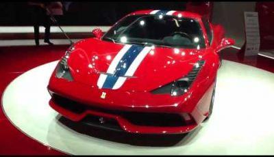 Ferrari 458 Speciale video a Francoforte 2013