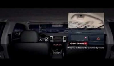 Video Mitsubishi Nuova Outlander