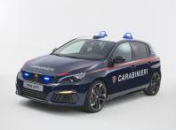 Una Peugeot 308 GTi per l'Arma dei Carabinieri