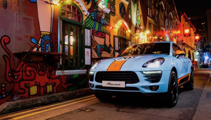Porsche Macan, 5 livree speciali per omaggiare Le Mans - Foto 2 di 12