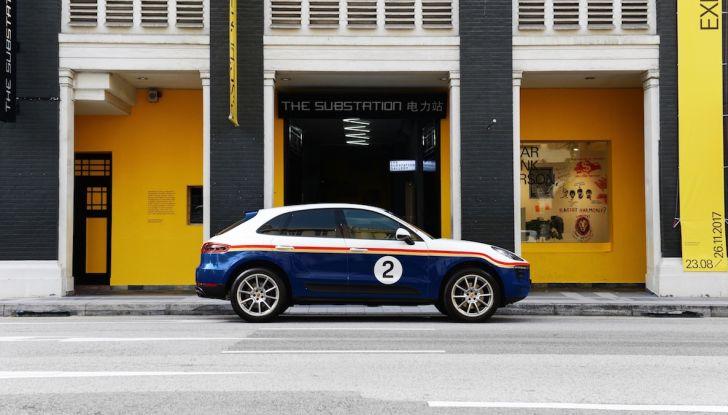Porsche Macan, 5 livree speciali per omaggiare Le Mans - Foto 8 di 12