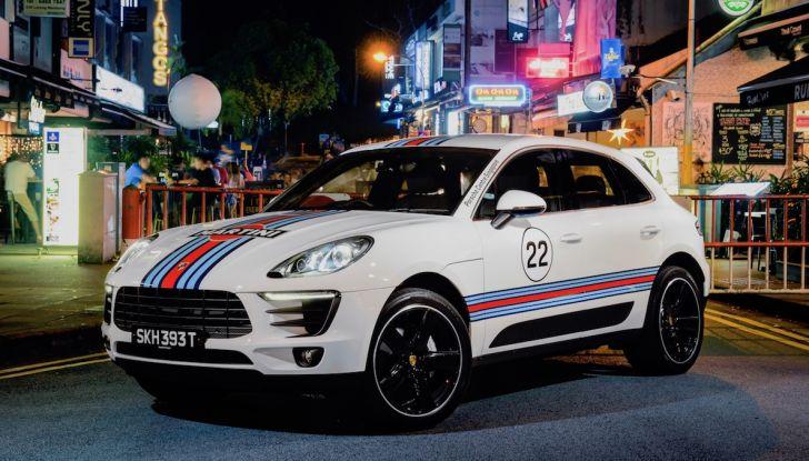 Porsche Macan, 5 livree speciali per omaggiare Le Mans - Foto 11 di 12
