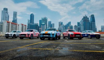 Porsche Macan, 5 livree speciali per omaggiare Le Mans