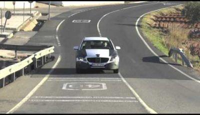 Nuova Mercedes Classe C station wagon 2014 video spia