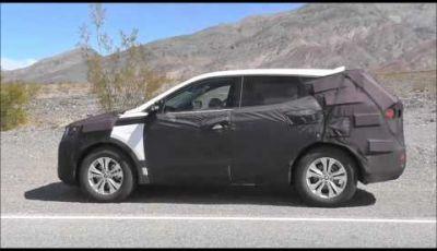 Hyundai Sante Fè video spia