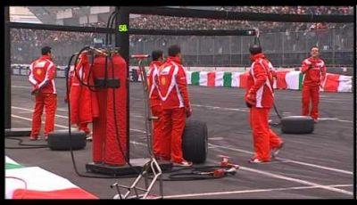 Esibizione Ferrari F1 al Motor Show 2011