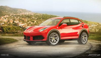 8 auto sportive diventano SUV, presenti anche Alfa 4C e Ferrari 488
