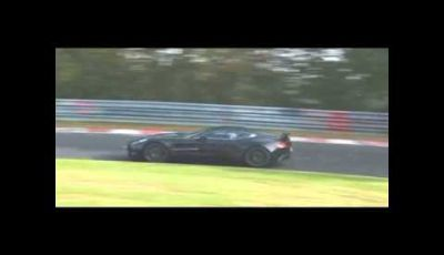 Aston Martin One-77 spy video