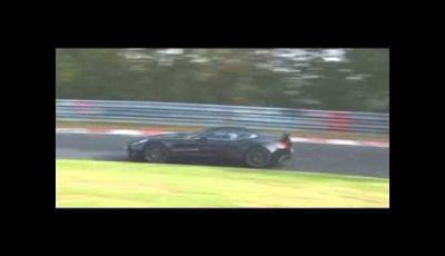 Aston Martin One-77 spy video