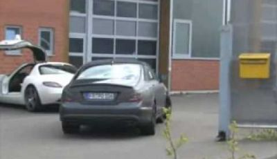 Video Mercedes CLS Spy