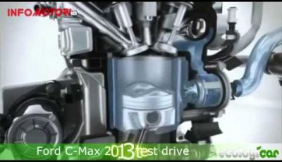 Ford C Max 2014 test drive