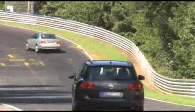 Opel Zafira spy video