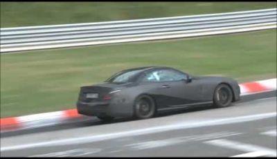 Mercedes SL AMG video spia al Nürburgring
