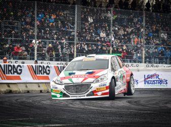 Peugeot festeggia al Monza Rally Show i suoi titoli nel CIR 2017