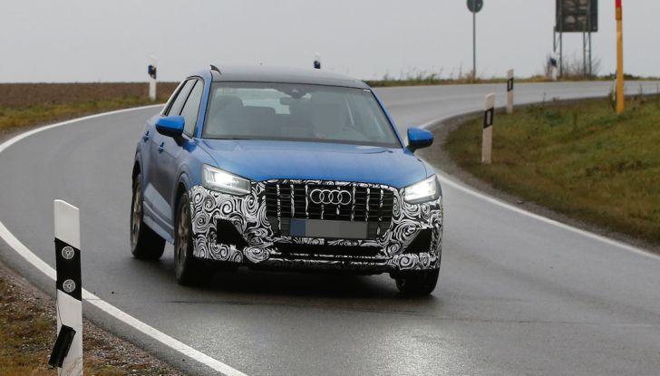 Audi SQ2 2018, sportività quotidiana su Quattro Anelli da oltre 300CV - Foto 2 di 12
