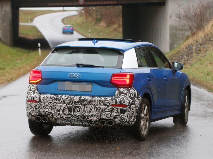 Audi SQ2 2018, sportività quotidiana su Quattro Anelli da oltre 300CV - Foto 12 di 12