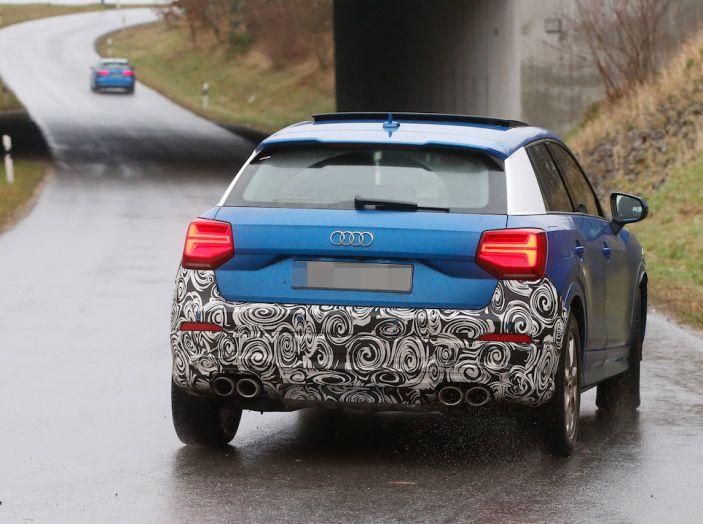 Audi SQ2 2018, sportività quotidiana su Quattro Anelli da oltre 300CV - Foto 3 di 12