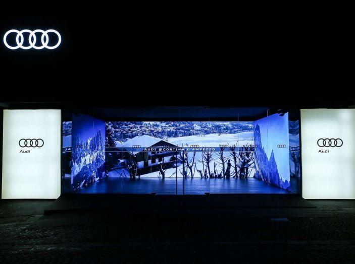 Audi sviluppa la rete di ricarica elettrica a Cortina d'Ampezzo - Foto 7 di 11