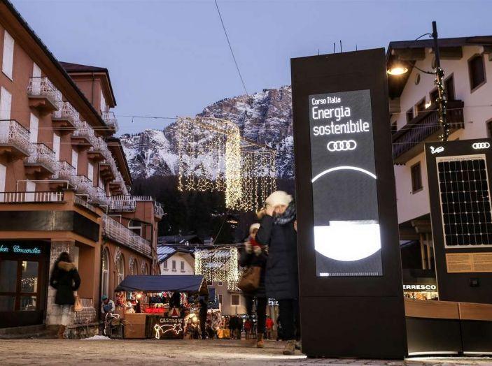Audi sviluppa la rete di ricarica elettrica a Cortina d'Ampezzo - Foto 5 di 11