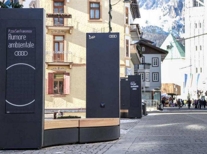 Audi sviluppa la rete di ricarica elettrica a Cortina d'Ampezzo - Foto 6 di 11