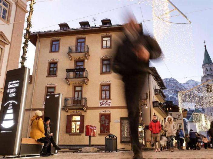 Audi sviluppa la rete di ricarica elettrica a Cortina d'Ampezzo - Foto 8 di 11