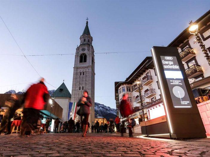 Audi sviluppa la rete di ricarica elettrica a Cortina d'Ampezzo - Foto 9 di 11