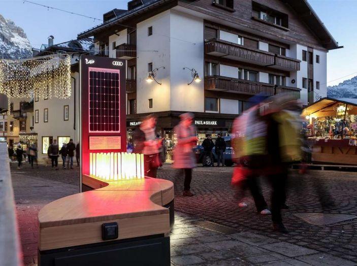 Audi sviluppa la rete di ricarica elettrica a Cortina d'Ampezzo - Foto 10 di 11