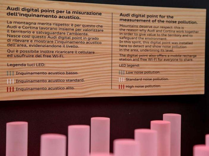 Audi sviluppa la rete di ricarica elettrica a Cortina d'Ampezzo - Foto 11 di 11