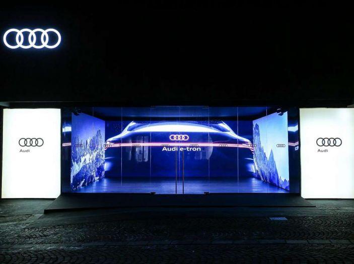 Audi sviluppa la rete di ricarica elettrica a Cortina d'Ampezzo - Foto 1 di 11
