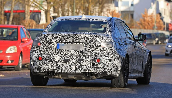 BMW M3 2020, una nuova veste per l'icona di Monaco - Foto 11 di 12