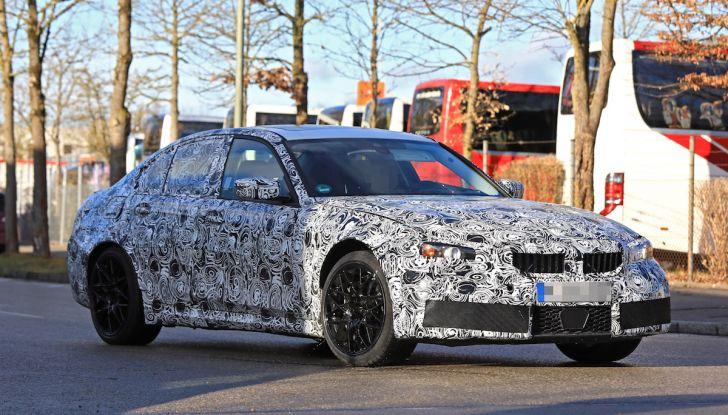 BMW M3 2020, una nuova veste per l'icona di Monaco - Foto 4 di 12