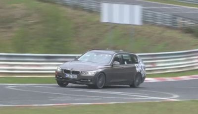 BMW Serie 3 Touring collaudi al Nurburgring