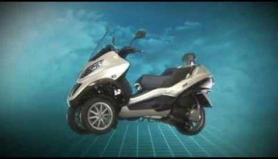 Video Piaggio Mp3 Hybrid