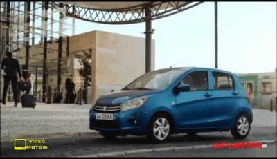 Suzuki Celerio dimostra le sue capacità in ambito urbano