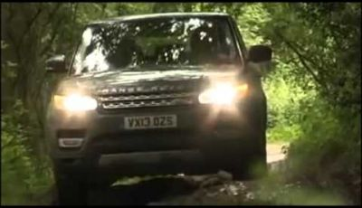 Range Rover Sport anima off-road