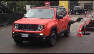 Jeep Renegade al Motor Show di Bologna