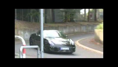 Porsche Cayman spy video al Nurburgring